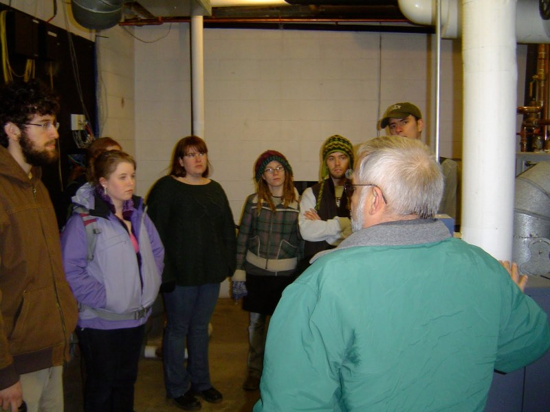 Boiler Room Tour