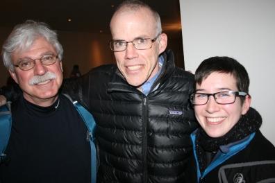 Stephen, Bill, Jean