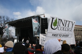 Unity College up front